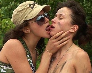 slender submissive lesbian
