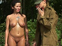 Lesbian army nude female soldiers army sex videos